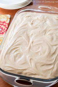 Spiced Pumpkin Cake with Maple Cream Cheese Frosting