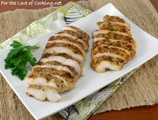 Brined and Baked Chicken Breasts