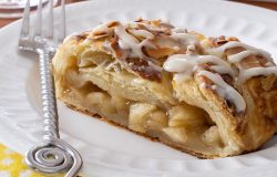 Glazed Apple Danish Braid