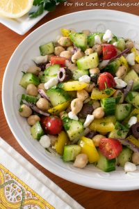 Mediterranean Chickpea Salad