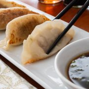 Pork and Cabbage Gyoza (Japanese Dumplings)