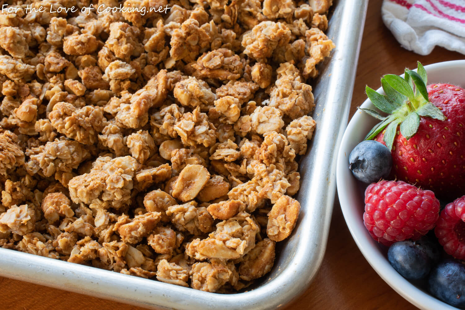 Peanut Butter and Honey Granola
