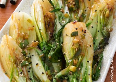Spicy Baby Bok Choy