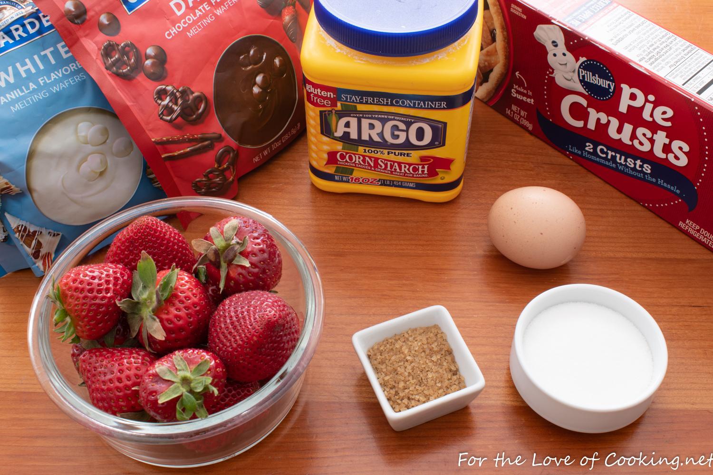 Mini Strawberry Galettes
