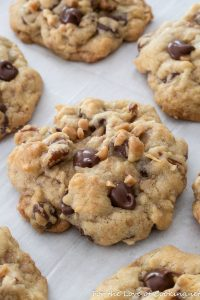 Toffee Coconut Pecan Chocolate Chip Cookies