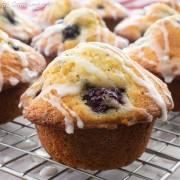 Blackberry Lemon Poppy Seed Muffins