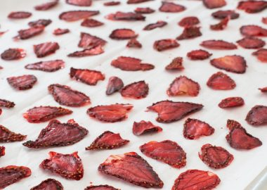 Oven-Dried Strawberries