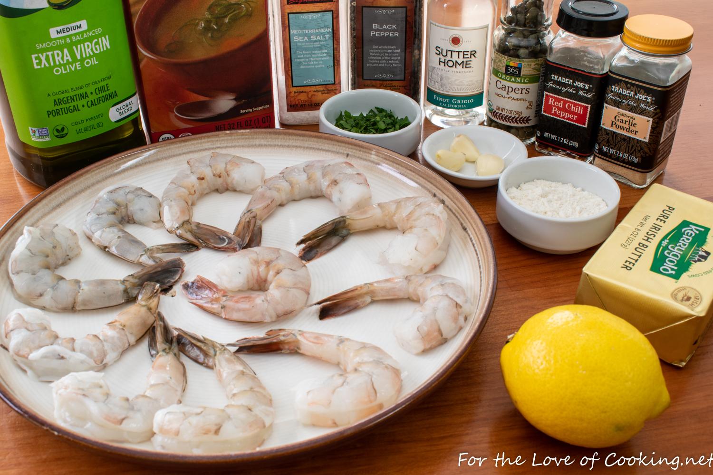 Shrimp Piccata