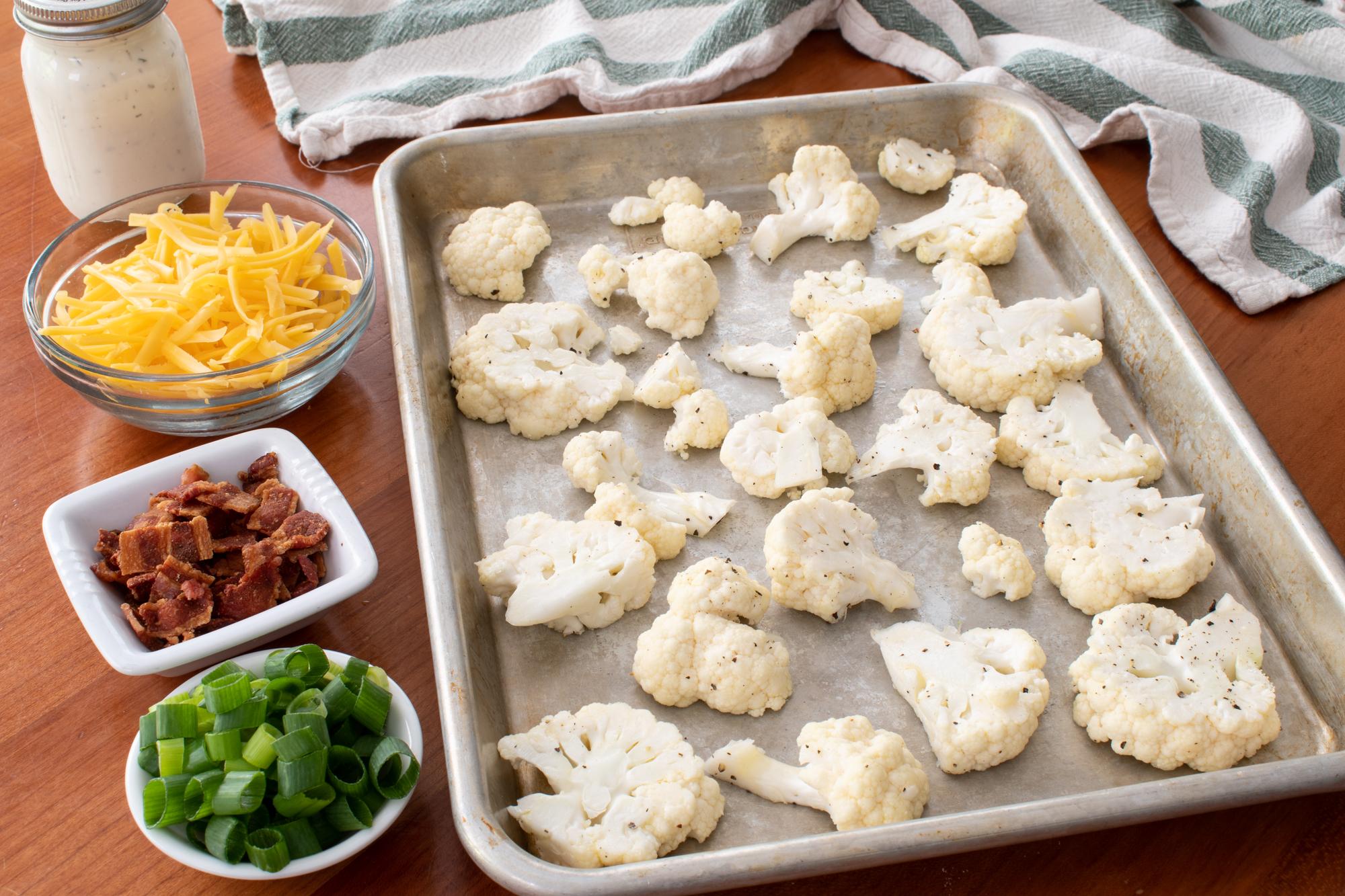 Loaded Roasted Cauliflower
